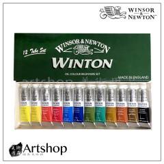 英國 溫莎牛頓 WINTON 油畫顏料 12色 37ml