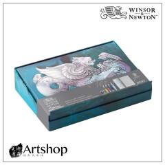 英國 winsor&newton 溫莎牛頓 8件套組 學生級 0390659