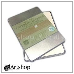 寶虹 棉漿 水彩紙 水彩紙明信片 鐵盒 300g 20入 15X10cm