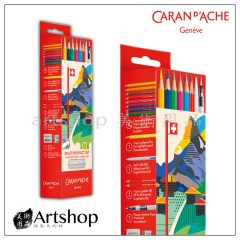 瑞士 CARAN D'ACHE 卡達 開學季 多產品套裝 鐵盒 3000.316