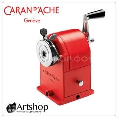 瑞士 CARAN D'ACHE 卡達 紅色金屬削鉛筆機 (馬特洪峰限定版) 附金屬禮盒