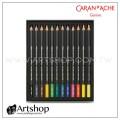 瑞士 CARAN D'ACHE 卡達 MUSEUM 博物館級水性色鉛筆 (12色)