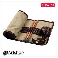 英國 Derwent 德爾文 Pencil Wrap 帆布收納筆捲 0700434