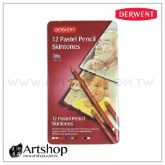 英國 Derwent 德爾文 Pastel 粉彩色鉛筆 (12色) 人物色 2300563