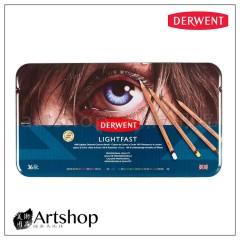 英國 Derwent 德爾文 LIGHTFAST 油性色鉛筆 (36色) 2302721