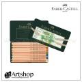 德國 FABER 輝柏 PITT 藝術家級粉彩色鉛筆 (12色) 綠盒