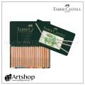 德國 FABER 輝柏 PITT 藝術家級粉彩色鉛筆 (36色) 綠盒