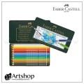 德國 FABER 輝柏 藝術家級水性色鉛筆 (12色) 綠盒