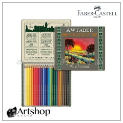 德國 Faber-Castell 輝柏 111周年紀念短版油性色鉛筆 24色 211002