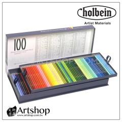日本 HOLBEIN 好賓 專家級油性色鉛筆 (100色) 紙盒 OP940