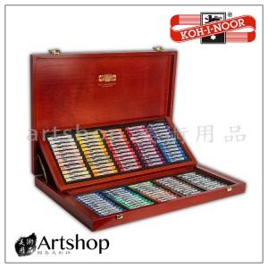 捷克 KOH-I-NOOR TOISON 軟性粉彩條 (120色) 木盒精裝.免運