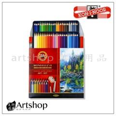 捷克 KOH-I-NOOR 專家級水性色鉛筆 48色 紙盒 #3713