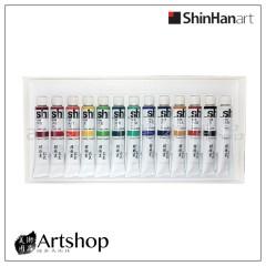 韓國 ShinHinart 新韓 管狀國畫顏料 13色 7.5ml
