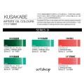 日本 KUSAKABE 專家級油畫顏料 40ml D級 (單色)