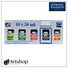 法國 LB 羅浮 玻璃彩繪組 50ml (10入)