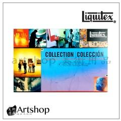 美國 Liquitex 麗可得 專家級重質壓克力顏料 12+5盒裝