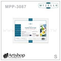 韓國 MIJELLO 美捷樂 MPP-3087 專家用紙調色盤 (S) 30張入