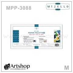 韓國 MIJELLO 美捷樂 MPP-3088 專家用紙調色盤 (M) 20張入