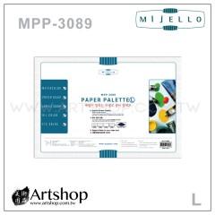 韓國 MIJELLO 美捷樂 MPP-3089 專家用紙調色盤 (L) 20張入