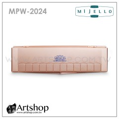 韓國 MIJELLO 美捷樂 MISSION 藝術家金級塊狀水彩 (24色) 含防彈調色盤 MPW-2024