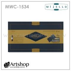 韓國 MIJELLO 美捷樂 MISSION 藝術家金級水彩 15ml (34色) MWC-1534 + 保濕調色盤【特惠組】