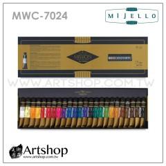 韓國 MIJELLO 美捷樂 MISSION 藝術家金級水彩 7ml (24色) MWC-7024