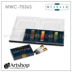 韓國 MIJELLO 美捷樂 MISSION 藝術家金級水彩 7ml (36色) 含調色盤 MWC-7036S
