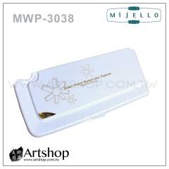 韓國 MIJELLO 美捷樂 MWP-3038 防彈玻璃製調色盤 (38格)