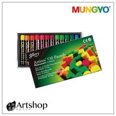 韓國 MUNGYO 專業油性粉彩 Oil Pastel (12色) 螢光色 MOP-12F