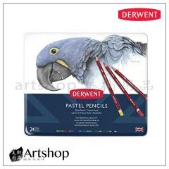 英國 Derwent 德爾文 Pastel 粉彩色鉛筆 (24色) 32992