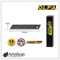 日本 OLFA 大型超銳黑刃美工刀片LBB-10 (10片裝)