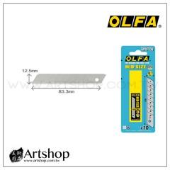 日本 OLFA 中型美工刀片 MTB-10B (10片裝)