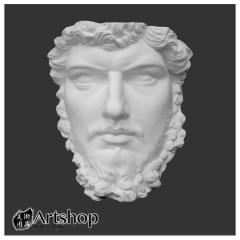 訂購商品 半面石膏像 素描用石膏像 素描靜物 大角面 運費另計350