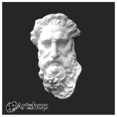 訂購商品 半面石膏像 素描用石膏像 素描靜物 大摩西半面 運費另計350