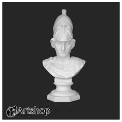 訂購商品 半面石膏像 素描用石膏像 素描靜物 武裝女神 運費另計350