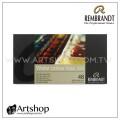 荷蘭 REMBRANDT 林布蘭 專家級塊狀水彩 (48色) 鐵盒裝