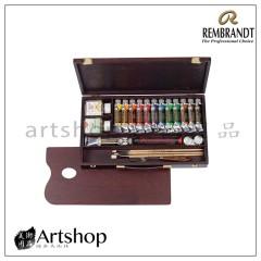 荷蘭 REMBRANDT 林布蘭 13色專家油畫木盒組(01840003)