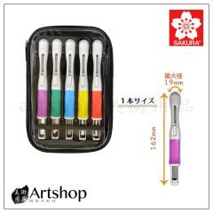 日本 SAKURA 櫻花 安全雕刻刀隨身包 (5支入) EHTS-5A