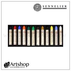 法國 SENNELIER 申內利爾 專家級手工油性粉彩 (12色) #132520.120