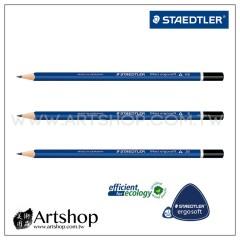 德國 STAEDTLER 施德樓 150 全美藍桿三角繪圖鉛筆 (單支) 2B,HB