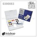 英國 WINSOR&NEWTON 溫莎牛頓 Cotman 塊狀水彩 (14色) 白盒套裝 0390083