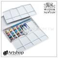 英國 WINSOR&NEWTON 溫莎牛頓 Cotman 塊狀水彩 (16+3色) 白盒PLUS套裝 0390375