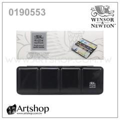 英國 溫莎牛頓 Professional 專家級塊狀水彩 (24色) 黑鐵盒0190553