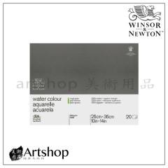 英國 WINSOR&NEWTON 溫莎牛頓 粗目水彩本 300g (26x36cm) 膠裝20入 #6663272