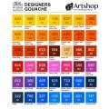 英國 WINSOR&NEWTON 溫莎牛頓 Designers 不透明水彩顏料 14ml S4 (單色) 10色可選