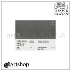英國 WINSOR&NEWTON 溫莎牛頓 粗目水彩本 300g (26x18cm) 膠裝20入 #6663270