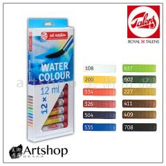 荷蘭 TALENS 泰倫斯 ArtCreation 透明水彩顏料 12ml (12色)