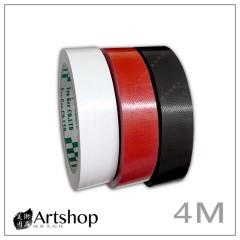 NITTO 日本 Yea Ger 布紋膠帶 布膠帶 2.4cm*4m (黑/白/紅)