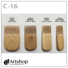 陶藝工具 雕塑用具 梳子工具 (4支入) C-16