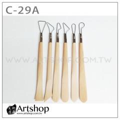 陶藝工具 雕塑用具 (6支入) C-29A